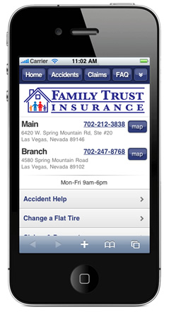 m.familytrustins.com website preview